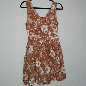NWT Modcloth Floral Romper